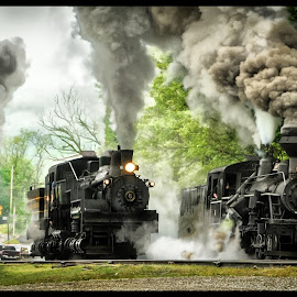 Foto Finish by James Eickman - Transportation Trains (  )