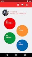 Screenshot of Coca-Cola Freestyle
