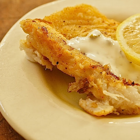 CAJUN FISH WITH CREAMY CAPER SAUCE