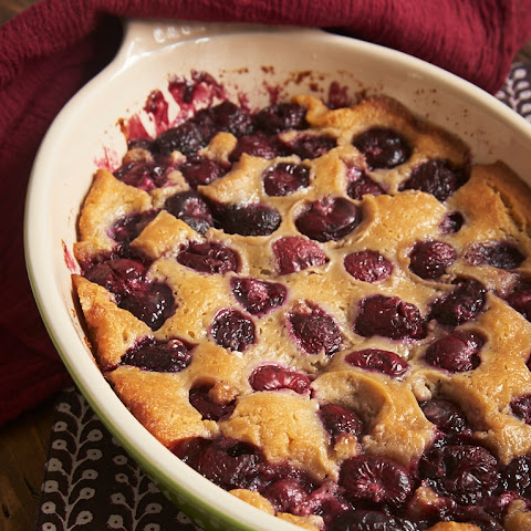 Brown Butter Cherry Cobbler
