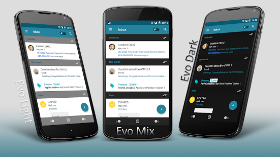 Evo CM12.1 - screenshot