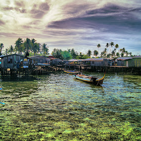 Watervillage by Mohamad Hafizuddin - Landscapes Waterscapes