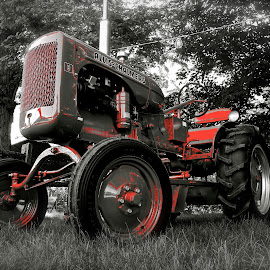 Blood Sweat & Tears by Wally VanSlyke - Transportation Other ( farm, indiana, delaware co in, midwest, muncie, antique tractor, relic, country )