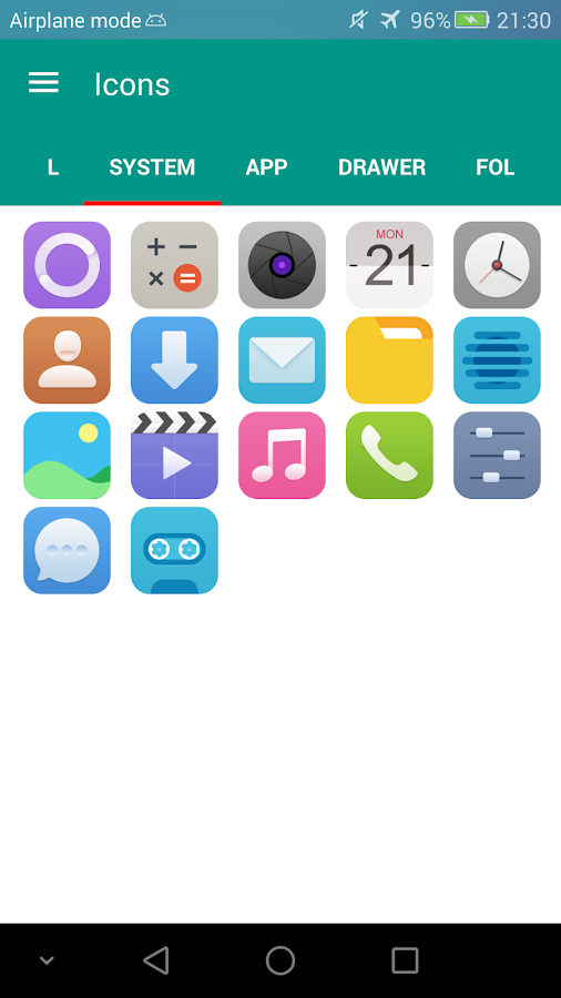 N Theme - Breath Icon Pack Screenshot 2