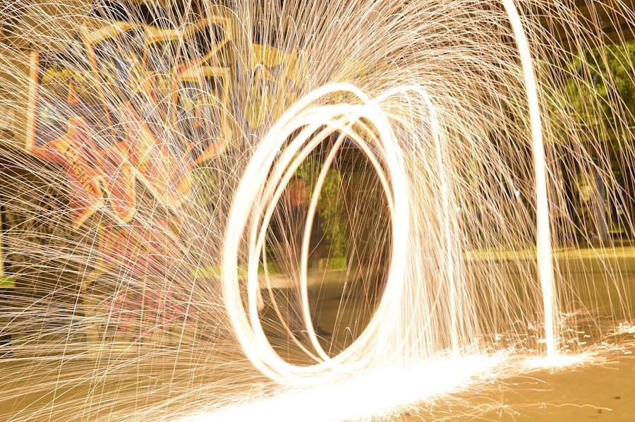 by Andrius La Rotta Esquivel - Abstract Light Painting ( amazing, awesome, lightpainting, interesting, street photography )