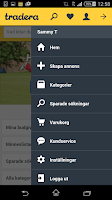 Screenshot of Tradera