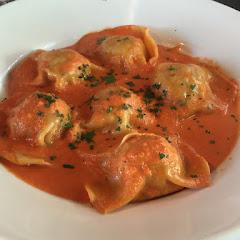 Gf ravioli -- seafood