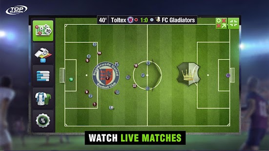 Free Download Top Eleven Be a Soccer Manager APK for Samsung
