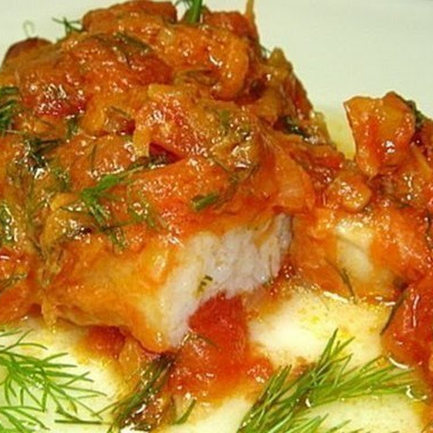 Fish With Tomatoes