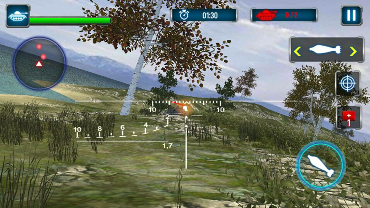 Tank Strike 3D Screenshot
