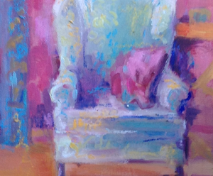 A Sundrum Interior Oil 10x8in