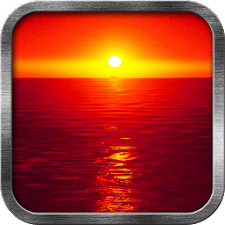 Hot Sunset Live Wallpaper