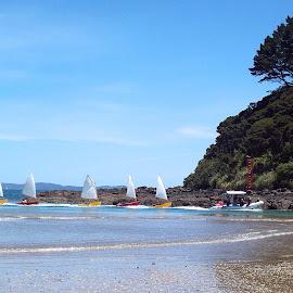 go lilma go by Rachel Rachel - Sports & Fitness Watersports ( yacht, sea, boat, landscape, race )