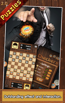 Thai Checkers - Genius Puzzle APK screenshot thumbnail 3