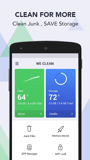 WeClean (Phone Cleaner&Speed Booster) For PC