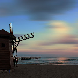 by Yılmz Doğn - Buildings & Architecture Architectural Detail ( sky, view, beach, clouds, sea, landscape )
