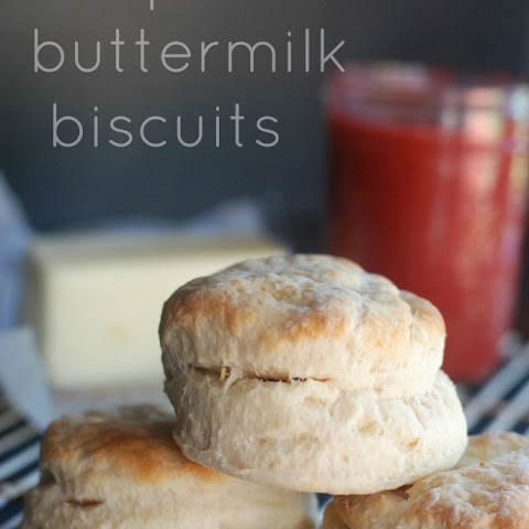 Foolproof Buttermilk Biscuits