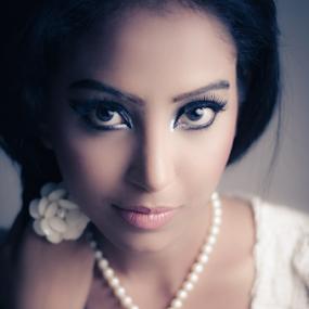 . by Moin Ally - People Portraits of Women ( female, woman, dhanmondi, white, nikon, portrait, glamor, dhaka )