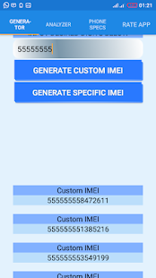 App IMEI Generator & Phone Specs APK for Kindle