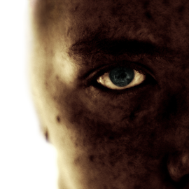 Exposure by Dave Livsey - People Portraits of Men ( exposed, creepy, sunshine, weird, eye,  )