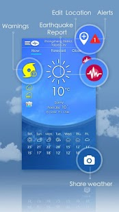 Taiwan Weather screenshot for Android