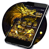 Golden Dragon Theme & Lock Screen