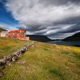 In the Spotlight  by Þorsteinn H. Ingibergsson - Buildings & Architecture Decaying & Abandoned ( iceland, nature, structor, old building, landscape, abandoned )