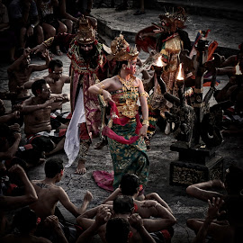 Kecak Bali 01 by Z. Y. Sjahrial - People Musicians & Entertainers (  )