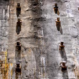 Slurry Wall Ground Zero by Darren Sutherland - Artistic Objects Industrial Objects ( 2017, trip, new york, new york trips )