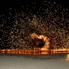 Fire Dance by Maria Skidmore - People Musicians & Entertainers ( 2014, denarau island, fiji, nikon, dance, fire, skidmore )
