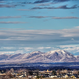 Nampa Idaho  by Todd Reynolds - Landscapes Mountains & Hills