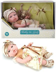 """Пупс серии """"Anna de Wailly"""" original 30 см, со вторым комплектом одежды, оливковый"""