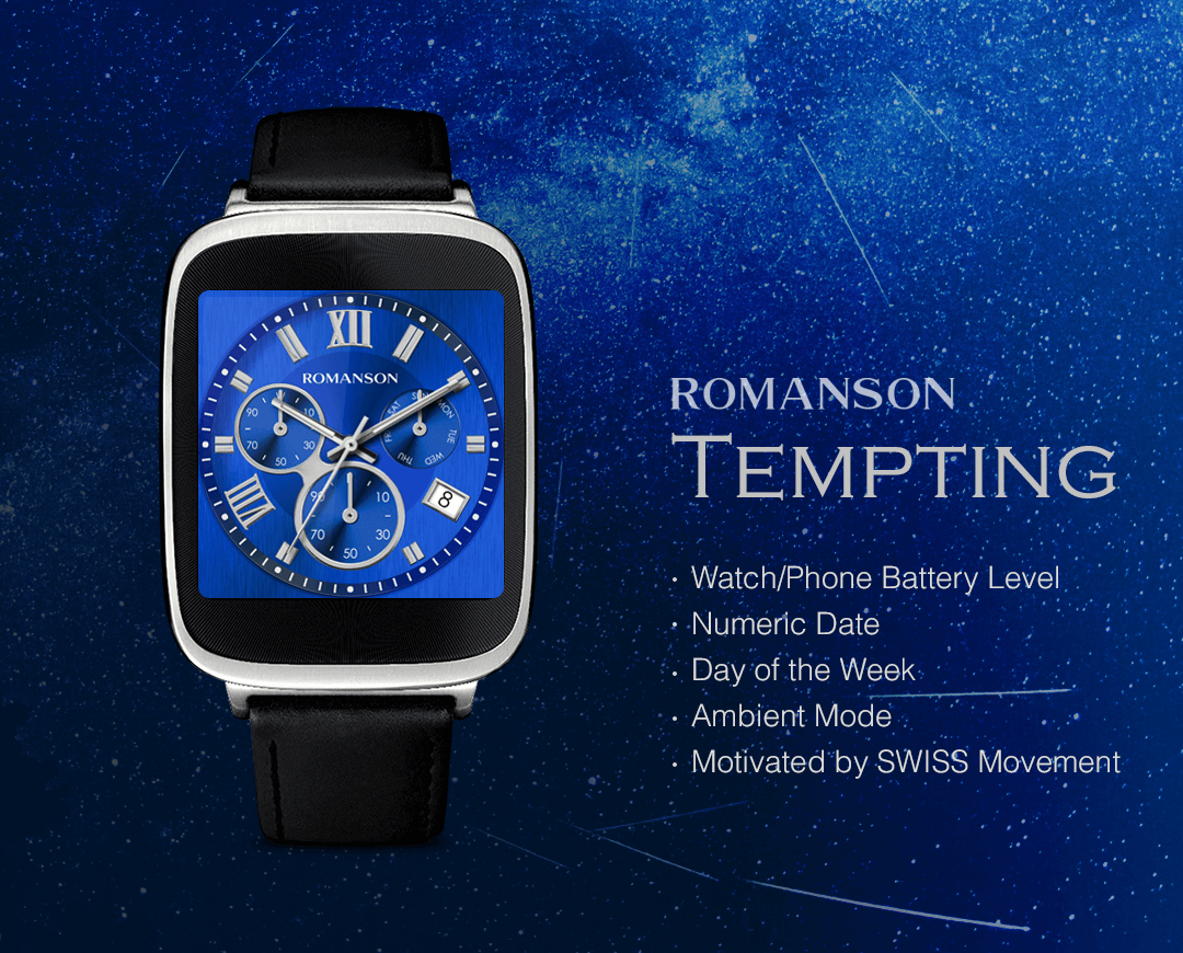 Tempting watchface by Romanson Screenshot 2