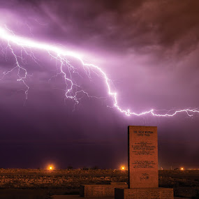 Great Western Lightning by Glenn Patterson - Landscapes Weather ( lightning, sky, thunderstorm, weather, landscape, storm )