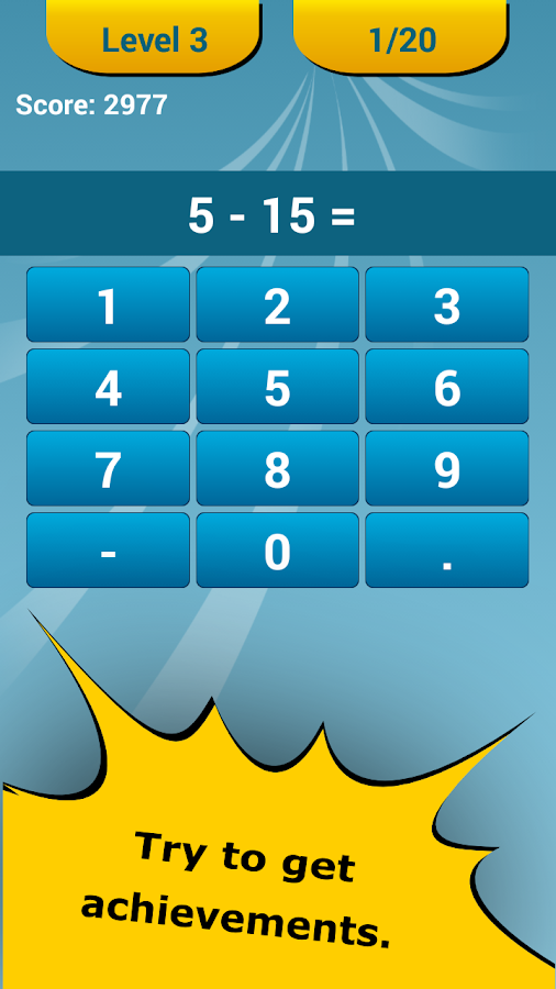 Math Challenge - Brain Workout Screenshot 3