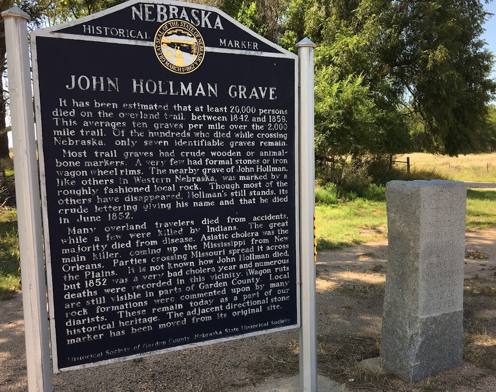 Marker is on Nebraska Highway 27, just south of the town of Oskosh and the North Platte River. For reference: about 125 miles east of Cheyenne, Wyoming, and 85 miles west-northwest of North Platte, ...