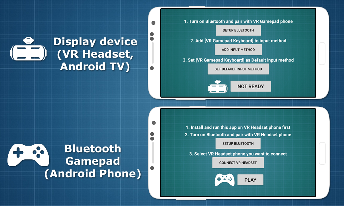 Bluetooth Gamepad VR & TV Screenshot 2