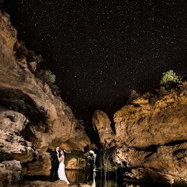 In the paradise by Victor Sarabia Grau - Wedding Other ( wedding photography, girl, wedding, couple, night, boda, boy )