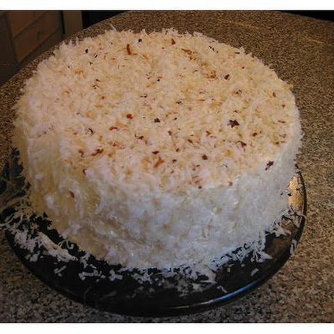 Layered Coconut Cake