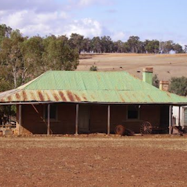 Farm by Shane Cassidy - Buildings & Architecture Homes ( farm, home stead, australia, out back, house )