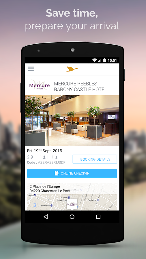 AccorHotels hotel booking Screenshot 2