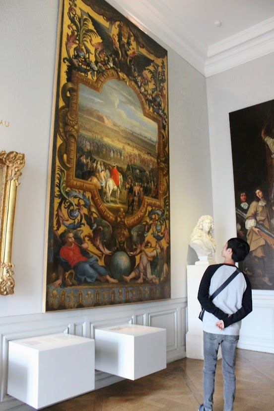 Many Paintings in Palace Versailles
