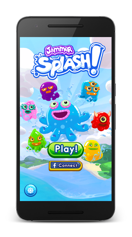 Jammer Splash Screenshot