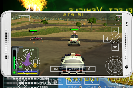 Game Twisted Metal: 2 Head-On 3 APK for iPhone