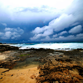 Cozumel by Cristobal Garciaferro Rubio - Landscapes Weather ( wavee-s, clouds, sand, pwcfoulweather, storm )
