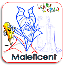 Learn To Draw MALEFICENT