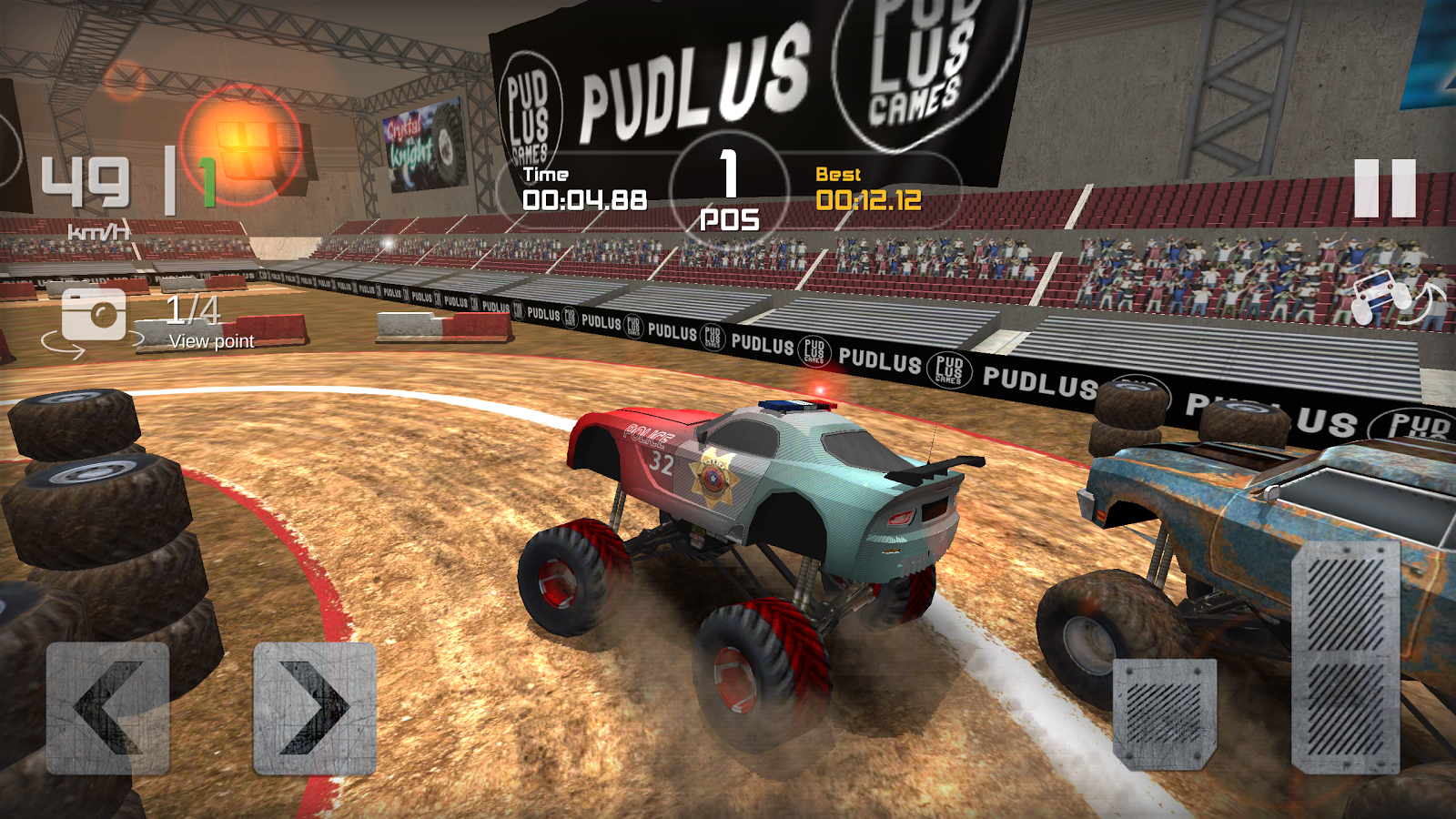 Monster Truck Race Screenshot 0