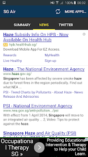 Free SG Air Quality (PSI) APK for Android
