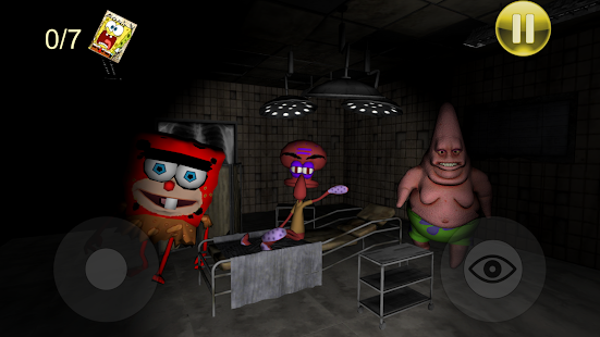 Sponge Hospital. Five Nights at Red Bob 3D for pc