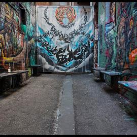 Croft's End by Mark Hundt - City,  Street & Park  Street Scenes